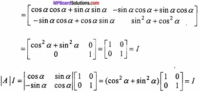 MP Board Class 12th Maths Important Questions Chapter 3 Matrices