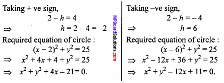 MP Board Class 11th Maths Important Questions Chapter 11 Conic Sections 6