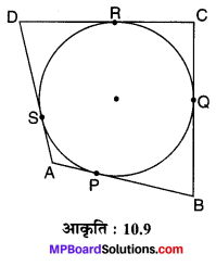 MP Board Class 10th Maths Solutions Chapter 10 वृत्त Ex 10.2 11