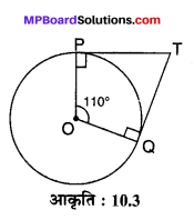 MP Board Class 10th Maths Solutions Chapter 10 वृत्त Ex 10.2 3