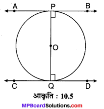 MP Board Class 10th Maths Solutions Chapter 10 वृत्त Ex 10.2 5