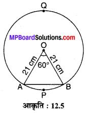 MP Board Class 10th Maths Solutions Chapter 12 वृतों से संबंधित क्षेत्रफल Ex 12.2 4