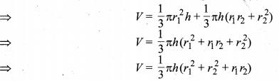 MP Board Class 10th Maths Solutions Chapter 13 पृष्ठीय क्षेत्रफल एवं आयतन Ex 13.5 9