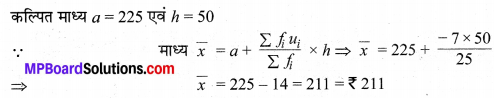 MP Board Class 10th Maths Solutions Chapter 14 सांख्यिकी Ex 14.1 14
