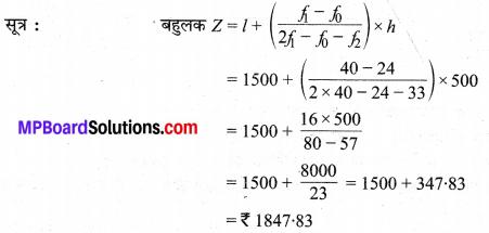 MP Board Class 10th Maths Solutions Chapter 14 सांख्यिकी Ex 14.2 6