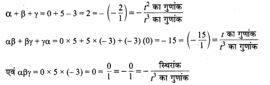 MP Board Class 10th Maths Solutions Chapter 2 बहुपद Additional Questions 8