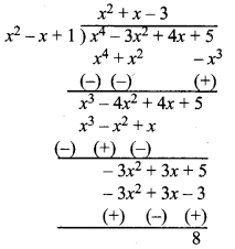 MP Board Class 10th Maths Solutions Chapter 2 बहुपद Ex 2.3 2