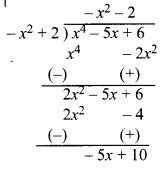 MP Board Class 10th Maths Solutions Chapter 2 बहुपद Ex 2.3 3