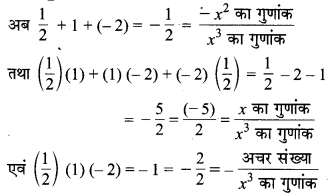 MP Board Class 10th Maths Solutions Chapter 2 बहुपद Ex 2.4 3