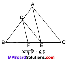 MP Board Class 10th Maths Solutions Chapter 6 त्रिभुज Ex 6.2 10
