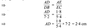MP Board Class 10th Maths Solutions Chapter 6 त्रिभुज Ex 6.2 3