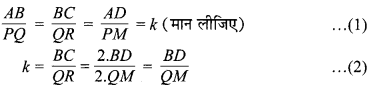 MP Board Class 10th Maths Solutions Chapter 6 त्रिभुज Ex 6.3 20