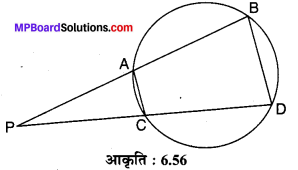 MP Board Class 10th Maths Solutions Chapter 6 त्रिभुज Ex 6.6 10