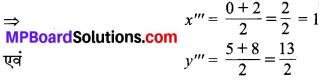 MP Board Class 10th Maths Solutions Chapter 7 निर्देशांक ज्यामिति Ex 7.2 15