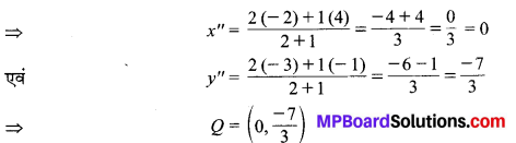 MP Board Class 10th Maths Solutions Chapter 7 निर्देशांक ज्यामिति Ex 7.2 4
