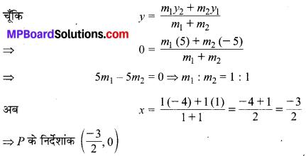 MP Board Class 10th Maths Solutions Chapter 7 निर्देशांक ज्यामिति Ex 7.2 9