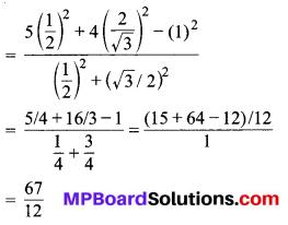 MP Board Class 10th Maths Solutions Chapter 8 त्रिकोणमिति का परिचय Ex 8.2 3