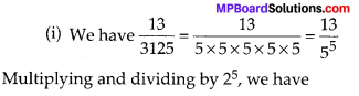 MP Board Class 10th Maths Solutions Chapter 1 Real Numbers Ex 1.4 5