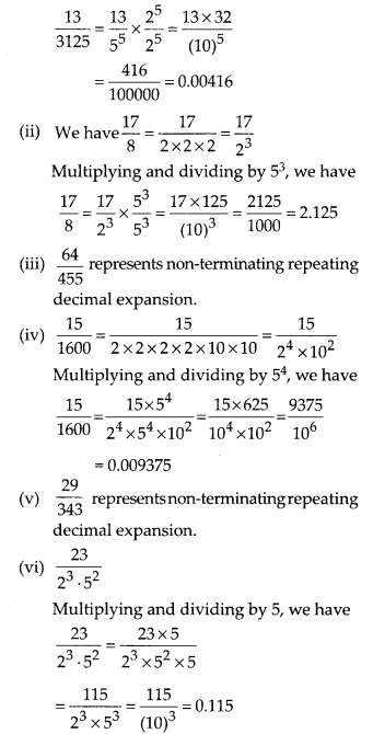MP Board Class 10th Maths Solutions Chapter 1 Real Numbers Ex 1.4 6