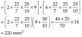 MP Board Class 10th Maths Solutions Chapter 13 Surface Areas and Volumes Ex 13.1 10