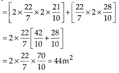 MP Board Class 10th Maths Solutions Chapter 13 Surface Areas and Volumes Ex 13.1 12