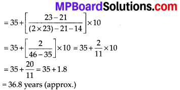 MP Board Class 10th Maths Solutions Chapter 14 Statistics Ex 14.2 2