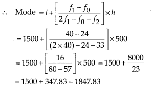 MP Board Class 10th Maths Solutions Chapter 14 Statistics Ex 14.2 7