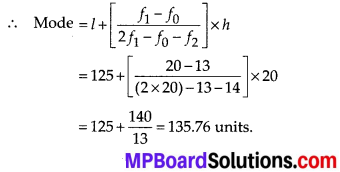MP Board Class 10th Maths Solutions Chapter 14 Statistics Ex 14.3 4