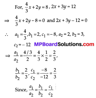 MP Board Class 10th Maths Solutions Chapter 3 Pair of Linear Equations in Two Variables Ex 3.2 13