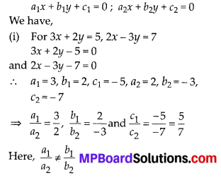 MP Board Class 10th Maths Solutions Chapter 3 Pair of Linear Equations in Two Variables Ex 3.2 9
