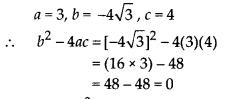 MP Board Class 10th Maths Solutions Chapter 4 Quadratic Equations Ex 4.4 1