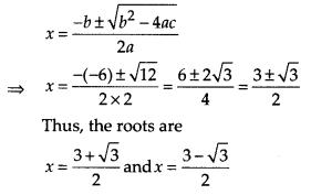 MP Board Class 10th Maths Solutions Chapter 4 Quadratic Equations Ex 4.4 3