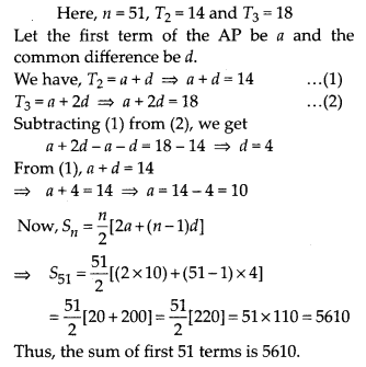 MP Board Class 10th Maths Solutions Chapter 5 Arithmetic Progressions Ex 5.3 22