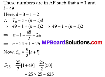 MP Board Class 10th Maths Solutions Chapter 5 Arithmetic Progressions Ex 5.3 30