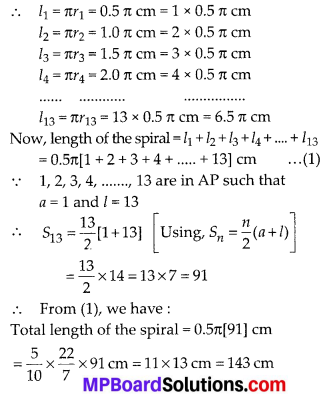 MP Board Class 10th Maths Solutions Chapter 5 Arithmetic Progressions Ex 5.3 36