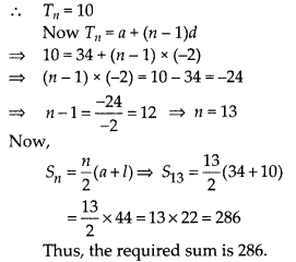MP Board Class 10th Maths Solutions Chapter 5 Arithmetic Progressions Ex 5.3 7