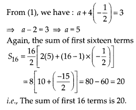 MP Board Class 10th Maths Solutions Chapter 5 Arithmetic Progressions Ex 5.4 4