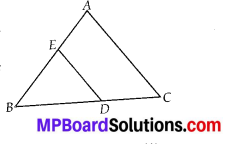 MP Board Class 10th Maths Solutions Chapter 6 Triangles Ex 6.4 14