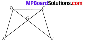 MP Board Class 10th Maths Solutions Chapter 6 Triangles Ex 6.4 2
