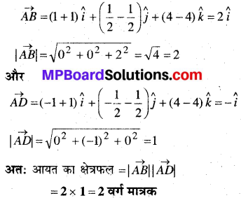 MP Board Class 12th Maths Book Solutions Chapter 10 सदिश बीजगणित Ex 10.5 16