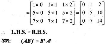 MP Board Class 12th Maths Book Solutions Chapter 3 आव्यूह Ex 3.3 13