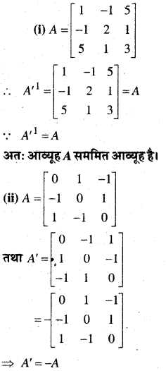 MP Board Class 12th Maths Book Solutions Chapter 3 आव्यूह Ex 3.3 16