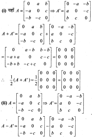 MP Board Class 12th Maths Book Solutions Chapter 3 आव्यूह Ex 3.3 19