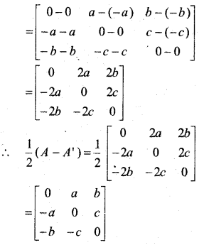 MP Board Class 12th Maths Book Solutions Chapter 3 आव्यूह Ex 3.3 20