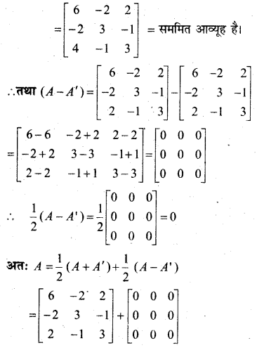 MP Board Class 12th Maths Book Solutions Chapter 3 आव्यूह Ex 3.3 24