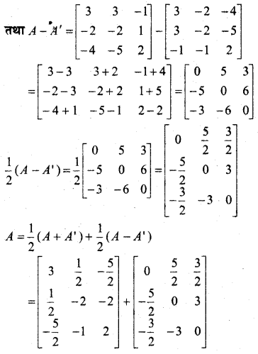 MP Board Class 12th Maths Book Solutions Chapter 3 आव्यूह Ex 3.3 26
