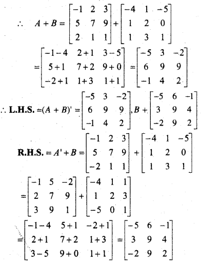 MP Board Class 12th Maths Book Solutions Chapter 3 आव्यूह Ex 3.3 3