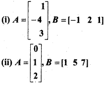 MP Board Class 12th Maths Book Solutions Chapter 3 आव्यूह Ex 3.3 9