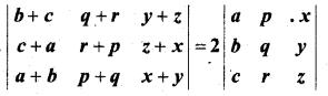 MP Board Class 12th Maths Book Solutions Chapter 4 सारणिक Ex 4.2 9