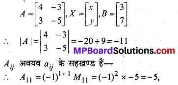 MP Board Class 12th Maths Book Solutions Chapter 4 सारणिक Ex 4.6 13
